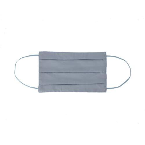CODELLO Damen Gesichtsmaske | Mund Nasenmaske Maske aus Reiner Baumwolle, Light Blue, Einheitsgröße