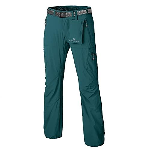Ferrino Pantalone Leggero da Trekking ed Escursionismo Hervey Pants Man Emerald (48)