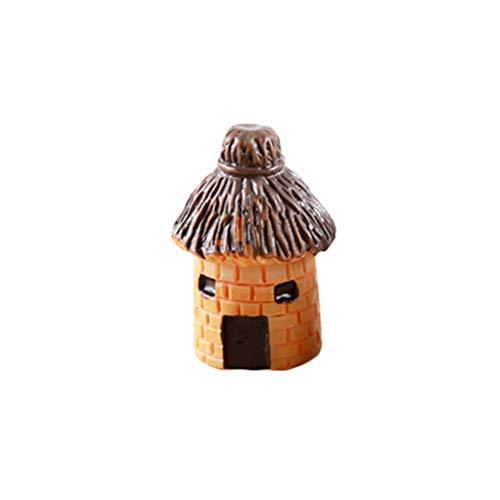 YeahiBaby 1 pièce Mini Banda DIY Modèle Décoration en résine Artisanat Pot Fée Jardin Paysage Décoration Ornement (Motif aléatoire)
