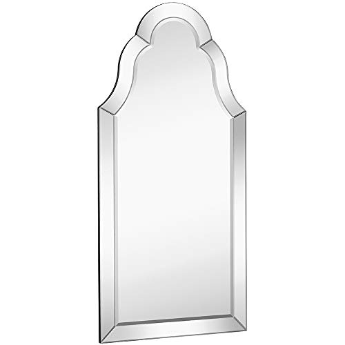 """Hamilton Hills Designer Mirror Framed Vanity Mirror 