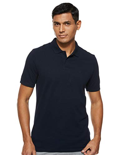 Jack & Jones Jjebasic Polo SS Noos - Camiseta para Hombre, Azul (Navy Blazer), Talla XL