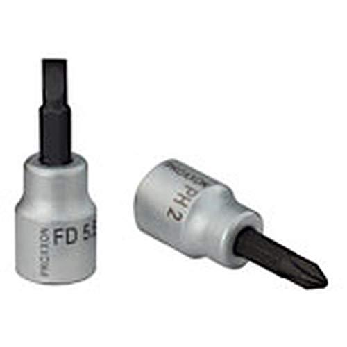 """Preisvergleich Produktbild PROXXON 23592 FD5, 5 Schlitzschrauben Einsatz Antrieb 10mm (3 / 8"""") Länge 50mm"""
