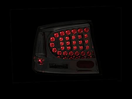 Sold in Pairs Anzo USA 321014 Dodge Charger Black LED Tail Light Assembly