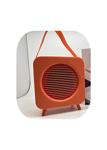 RHGEIUCY Rugeucía Altavoz Moda Bluetooth portátil Retro Nuevo Minimalista portátil Coche hogar pequeño Audio Estilo clásico, Altavoz inalámbrico portátil (Color : D)