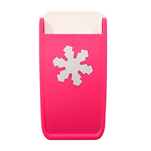 Vaessen Creative Resistentes Maxi, Copo de Nieve, Fuerte Perforadora para Papel, Corcho,...