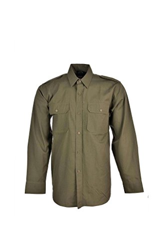 Mil-Tec RipStop Camisa manga larga Oliva Tamaño XL