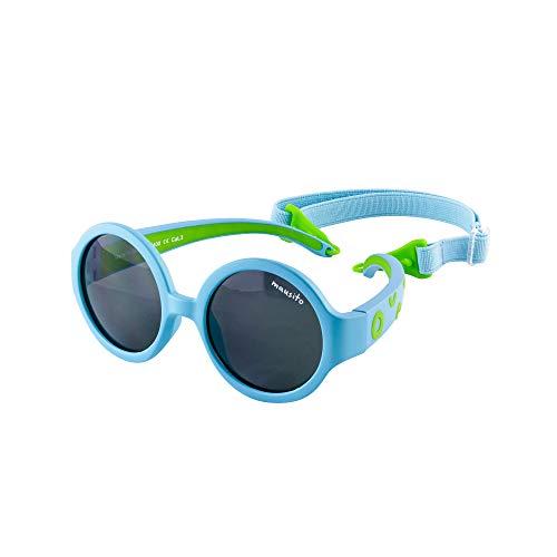 Mausito® Kinder Sonnenbrillen Jungen 1-2 Jahre I Biegsame Baby Sonnenbrille mit Band I 100{4ac803e11a8cb29c2151188a7970980cdd08c49f4920ac3b326bd4851c7c0d24} UV Schutz 400 I Ultraleichte Sonnenbrille für Kleinkinder I cool baby sunglasses