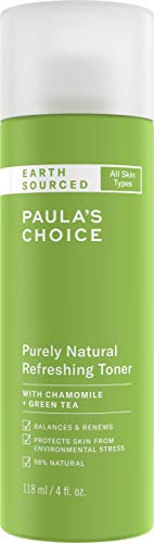 Paula's Choice Earth Sourced Toner - Gel Toner met Natuurlijke Ingrediënten - Kalmeert & Hydrateert de Huid - met Groene Thee Extract - Alle Huidtypen - 118 ml