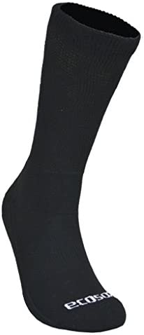 EcoSox Diabetic Socks Crew with Arch Support Pack of 3 OR 6 Viscose from Bamboo by Ecosox Sizes product image