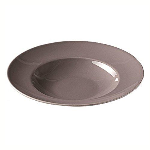 Visiodirect Lot de 6 Assiettes à pâtes Talass'O en Porcelaine 55 cl