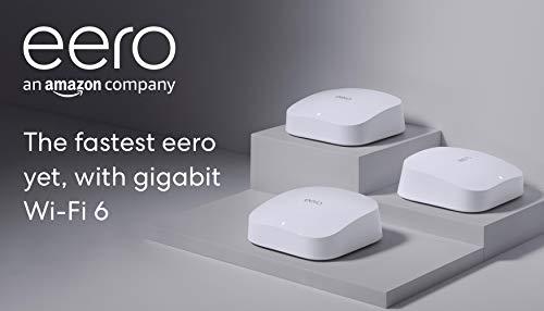 eero Pro 6 tri-band mesh Wi-Fi 6 system