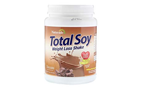 Naturade Total Soy Meal Replacement, Chocolate, 19.05 oz ( 2-Pack)
