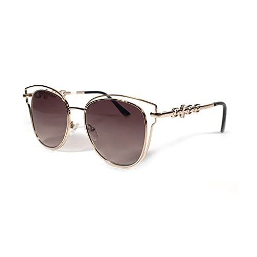 GUESS GF0343 Gold/Gradient Brown One Size
