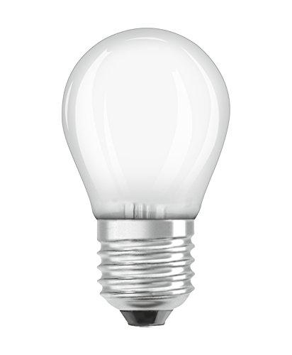 Osram LED SuperStar Classic P Lampe, in Tropfenform mit E27-Sockel, dimmbar, Ersetzt 40 Watt, Matt, Warmweiß - 2700 Kelvin, 6er-Pack