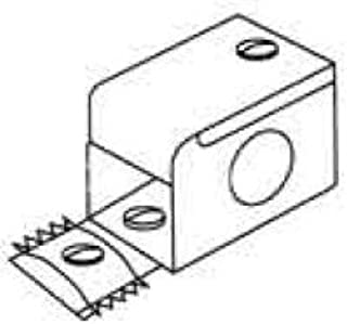 WIREMOLD V-2010A1 Entrance END Fitting, Ivory