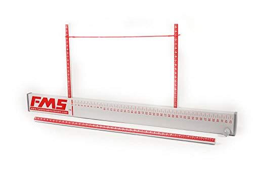 FMS Perform Better Test Kit Messsystem, weiß, 154,9 x 17,8 x 5,1cm