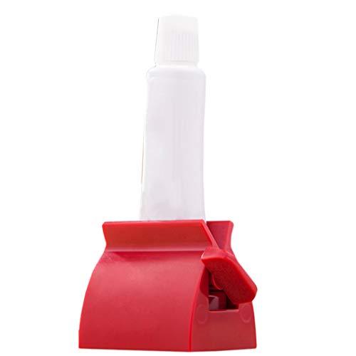 JUSTDOLIFE Tandpasta Squeezer Plastic Tandpasta Squeezer Roller Tandpasta Stoelhouder Tandpasta Dispenser