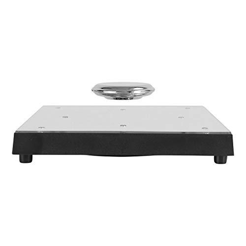 woodlev Magnetic Levitation Floating Rotating 8-LED Mirror Platform Holder Stand Display up to 350g Upgarded System