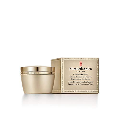 Elizabeth Arden – Ceramide Premiere – Crème Hydratante et Régénérante Intense pour le Contour des Yeux – Revitalise & Illumine – 15 ml