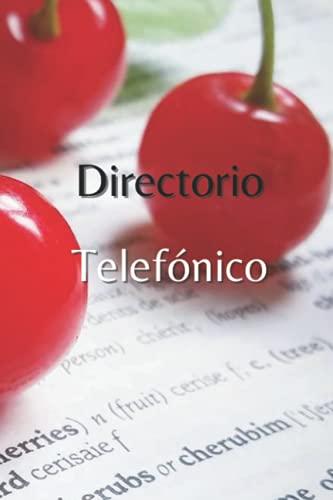 Directorio Telefonico: REP-69-ES-017 - Sólo números de teléfono, directorio telefónico con índice alfabético : nombres y números (teléfono / móvil)   Dimensiones : 15.24 x 0.64 x 22.86 cm
