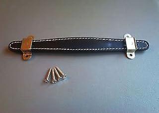 Jellyfish - Asa de piel para amplificador Fender Champ Deluxe Bassman, color negro