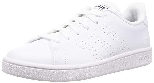 Adidas Advantage Base Zapatillas para Hombre Clasicas (42 EU, Blanco-Azul)