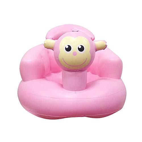 N/Een Baby Stoel, Baby Opblaasbare Bank Baby Leren Stoel Om Verdikking Bad Kruk Draagbare BB Multi-Functie Kindermaaltijd Seat Verhogen