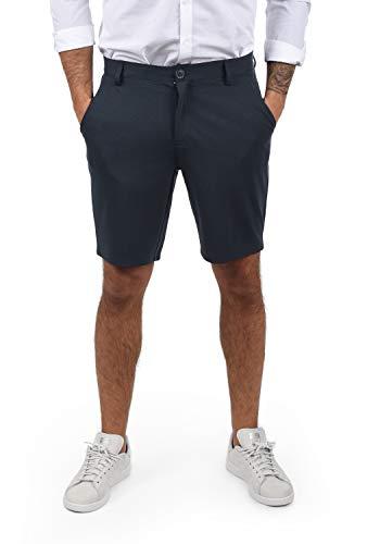 Blend Codie Herren Chino Shorts Bermuda Kurze Hose, Größe:L, Farbe:Dark Navy Blue (74645)