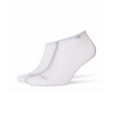 Burlington Everyday 2-Pack Damen Sneakersocken white (2000) 36-41 One size fits all (Gr. 36-41)