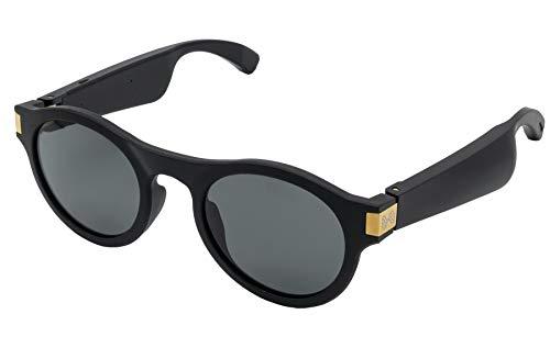 Premium Brand - Flows Polarized Bluetooth Audio Glasses – Taylor Style (Matte Black)