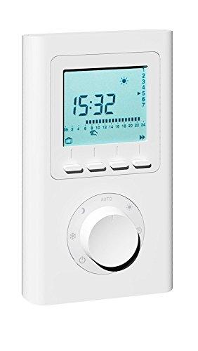 Thermostat X2D sans fil programmable - compatible avec AeroFlow radiateur électrique avec récepteur radioélectrique X2D