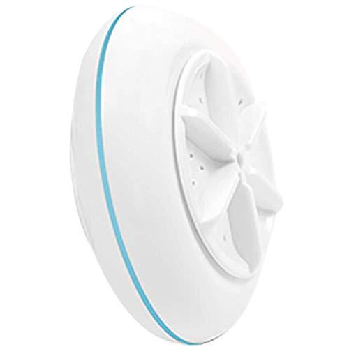HMDJW Mini Machine Portable Les vaisselles, vêtements Turbine à ultrasons Mini Laveuse, Câble USB Pratique for la Maison Voyage Voyage d'affaires (Color : Blue)