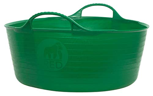 フォルクス&コックス レッドゴリラ TUBTRUGS ミニシャロウ グリーン 5L