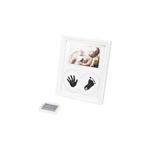 Teti`s Ducks Home - Set de Marco de Fotos y Huellas de Bebé en Tinta – Recuerdo memorable – Ideal Regalos Para Bebes, Decoración o Regalo De Baby Shower - No tóxico.