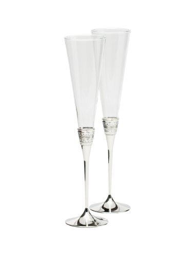 Vera Wang Wedgwood 5700366117 With Love Toasting Flute Pair