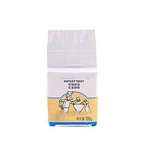 Yinuneronsty 100 g de levadura de panadero, seca activa y de alta tolerancia de azúcar