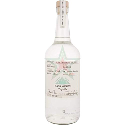 Casamigos Tequila Blanco 100% Agave Azul 40,00% 1,00 Liter
