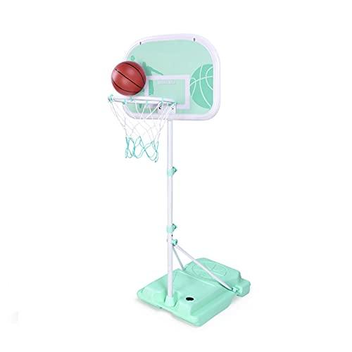 Canasta Baloncesto Aro De Baloncesto Portátil para Niños, Soporte De Baloncesto De Pie, Utilizado para El Jardín Interior Y Exterior del Hogar, con Tablero Y Anillo De Aro (Size : 170cm)