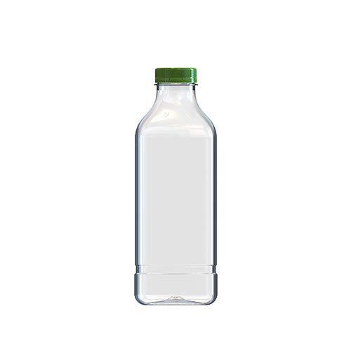 Botella 1 Litro PET Cuadrada (Caja 70 unid.)