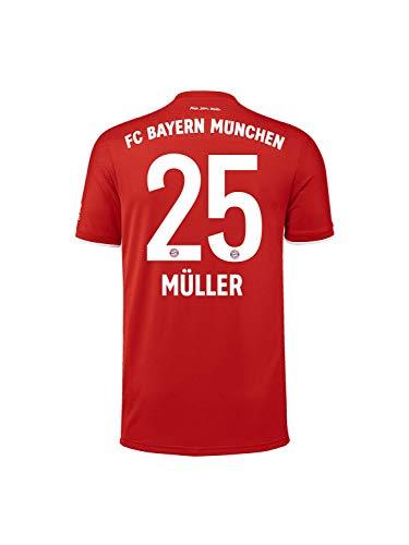 FC Bayern München Home-Trikot Saison 2020/21, Gr. XXL, Thomas Müller