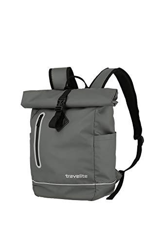 Travelite Mochila enrollable unisex Basics, Gris (Anthrazit) (Gris) - 096314-04