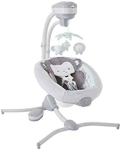 Fisher-Price Sweet Surroundings Monkey Cradle 'n Swing