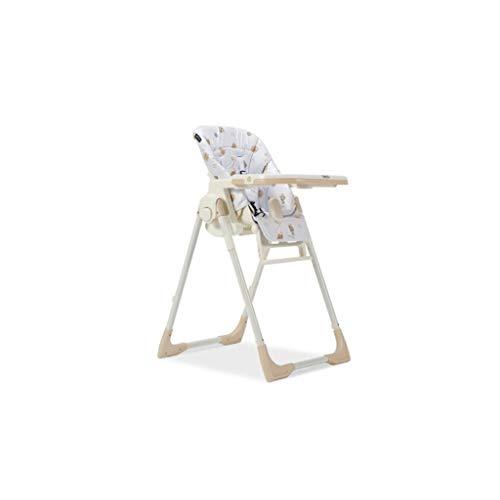 CML Salle à bébé Chaise Enfant Chaise réglable Sitting Enfant Portable Multifonctionnel Manger bébé Siège de Table Blanc Facile à Utiliser