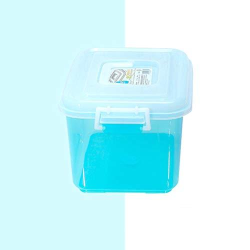 AQSG Petite boîte de Rangement en Plastique Multicolore avec Couvercle