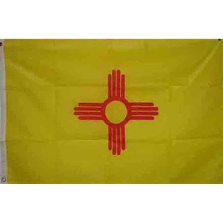 Amazon Com New Mexico State Flag 3x5 3 X 5 Large Banner Outdoor Flags Garden Outdoor