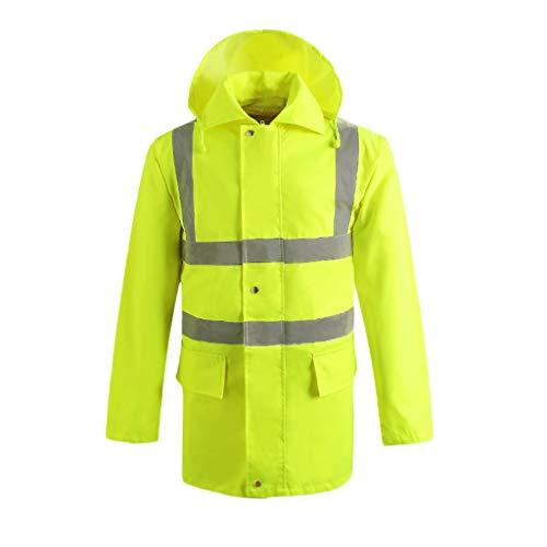 Veiligheidsvesten, reflecterende veiligheidskleding, waterdichte overall verkeer-regenjas reflecterende kleding veiligheidstechniek