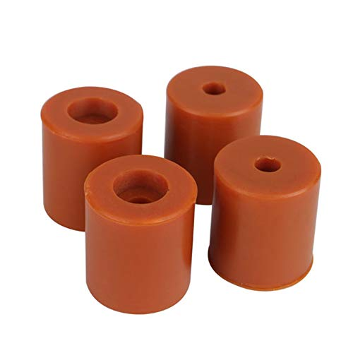 BIlinli 4Pcs Silicone Buffer Leveling Columns Rubber Dampers Buffers For 3D Printer Part Ender-2/Ender 3/CR-10 Supplies Accessories