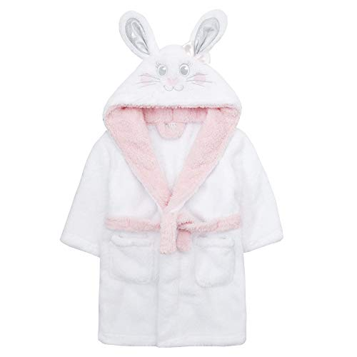 Minikidz jonge kinderen nieuw haas knuffelen fleece ochtendjas