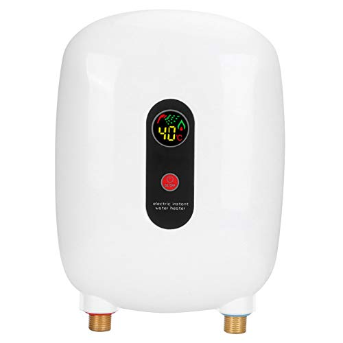 XINL 3500W 220V Mini Calentador de Agua eléctrico instantáneo sin Tanque con...