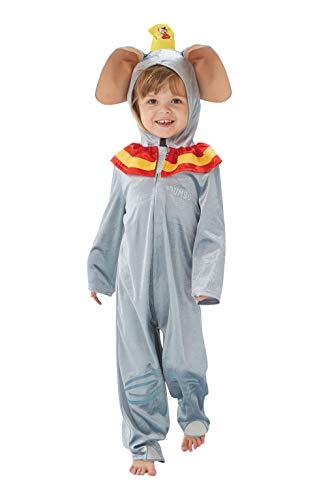 Rubie's officiële Disney Dumbo olifant kinderen kostuum, jumpsuit